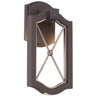 Minka Lavery Eastborne LED Outdoor Wall Lantern in Sand Bronze With Gold Highlights 72401-287B-L