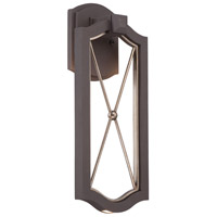 Minka Lavery Eastborne LED Outdoor Wall Lantern in Sand Bronze With Gold Highlights 72402-287B-L