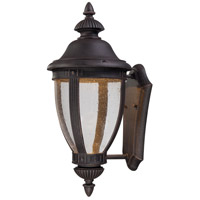 Wynterfield LED 22 inch Burnt Rust Outdoor Wall Mount Lantern