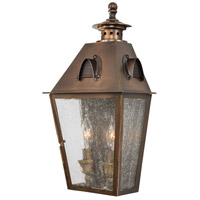 Erenshire 2 Light 16 inch English Brass Outdoor Pocket Lantern