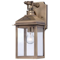 Minka-Lavery Eastbury 1 Light Outdoor Lantern in Colonial Brass 72431-261