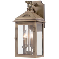 Eastbury 4 Light 20 inch Colonial Brass Outdoor Wall Mount Lantern