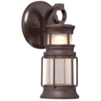 Garreston Pointe LED 12 inch Architectual Bronze/Copper Highlights Outdoor Wall Mount