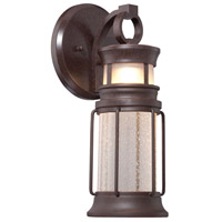 Garreston Pointe LED 15 inch Architectual Bronze/Copper Highlights Outdoor Wall Mount