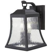 Minka-Lavery 72462-66 Cassidy Park 2 Light 13 inch Black Outdoor Wall Light The Great Outdoors
