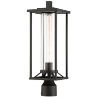 Trescott 1 Light 20 inch Black Outdoor Post Mount