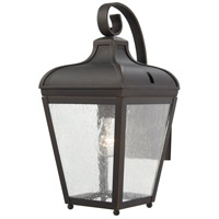 Minka-Lavery 72481-143C Marquee 1 Light 16 inch Oil Rubbed Bronze/Gold Outdoor Wall Mount The Great Outdoors