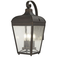 Minka-Lavery 72482-143C Marquee 4 Light 21 inch Oil Rubbed Bronze/Gold Outdoor Wall Lantern The Great Outdoors