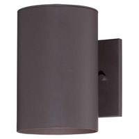 Minka-Lavery Skyline 1 Light Outdoor Lantern in Dorian Bronze 72501-615B-PL