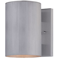 Skyline 1 Light 8 inch Brushed Stainless Steel Outdoor Wall Mount Lantern