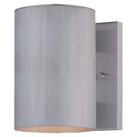 Minka-Lavery Skyline 1 Light Outdoor Lantern in Brushed Aluminum 72501-A144-PL