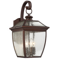 Sunnybrook 4 Light 19 inch Alder Bronze Outdoor Wall Lantern
