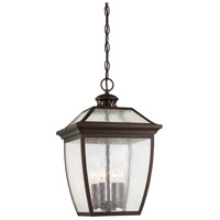 Minka-Lavery 72525-246 Sunnybrook 4 Light 12 inch Alder Bronze Outdoor Pendant The Great Outdoors