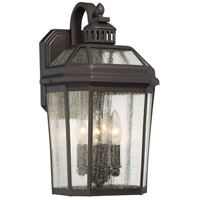 Hawks Point 4 Light 17 inch Oil Rubbed Bronze Outdoor Wall Lantern