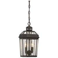 Hawks Point 2 Light 7 inch Oil Rubbed Bronze Outdoor Chain Hung Lantern