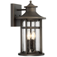 Minka-Lavery 72553-143C Highland Ridge 4 Light 18 inch Oil Rubbed Bronze/Gold Outdoor Wall Lamp The Great Outdoors