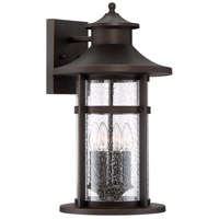 Minka-Lavery 72557-143C Highland Ridge 4 Light 21 inch Oil Rubbed Bronze with Gold Highlights Outdoor Wall Light The Great Outdoors