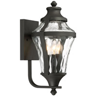 Minka-Lavery 72562-66 Libre 3 Light 17 inch Black Outdoor Wall Lamp The Great Outdoors