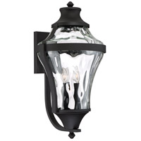 Minka-Lavery 72567-66 Libre 4 Light 24 inch Black Outdoor Wall Light The Great Outdoors