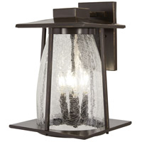 Minka-Lavery 72573-143C Marlboro 4 Light 16 inch Oil Rubbed Bronze with Gold Highlights Outdoor Wall Light The Great Outdoors