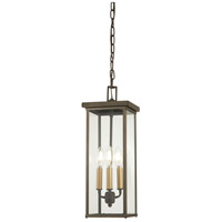 Minka-Lavery 72584-143C Casway 4 Light 7 inch Oil Rubbed Bronze/Gold Outdoor Hanging Lantern The Great Outdoors