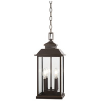 Minka-Lavery 72594-143C Miners Loft 4 Light 9 inch Oil Rubbed Bronze with Gold Highlights Outdoor Pendant Lantern The Great Outdoors
