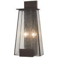 Minka-Lavery 72602-226 Bistro Dawn 2 Light 18 inch Dakota Bronze Outdoor Wall Mount Great Outdoors