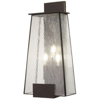 Minka-Lavery 72603-226 Bistro Dawn 3 Light 22 inch Dakota Bronze Outdoor Wall Mount The Great Outdoors