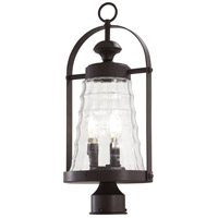 Minka-Lavery 72626-615B Sycamore Trail 3 Light 20 inch Dorian Bronze Outdoor Post Mount Lantern The Great Outdoors