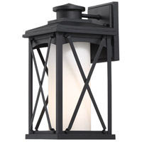 Minka-Lavery 72681-66 Lansdale 1 Light 13 inch Black Outdoor Wall Lantern