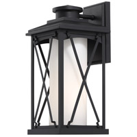 Minka-Lavery 72682-66 Lansdale 1 Light 16 inch Black Outdoor Wall Lantern
