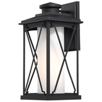 Minka-Lavery 72683-66 Lansdale 1 Light 18 inch Black Outdoor Wall Lantern