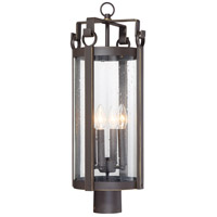 Minka-Lavery 72696-226 Somerset Lane 4 Light 27 inch Dakota Bronze Outdoor Post Mount Lantern The Great Outdoors