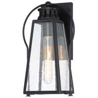 Minka-Lavery 72701-66A Halder Bridge 1 Light 13 inch Matte Black Outdoor Wall Lantern