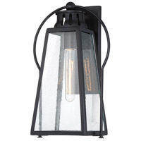 Minka-Lavery 72702-66A Halder Bridge 1 Light 15 inch Matte Black Outdoor Wall Lantern