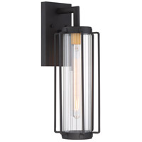 Avonlea 1 Light 19 inch Black with Gold Outdoor Wall Light, The Great Outdoors
