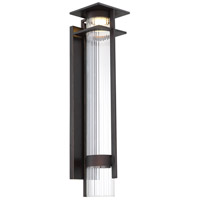Minka-Lavery 72743-143C-L Kittner LED 26 inch Oil Rubbed Bronze/Gold Highlight Outdoor Wall Lantern