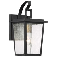 Minka-Lavery 72751-66G Cantebury 1 Light 14 inch Black with Gold Outdoor Wall Light The Great Outdoors
