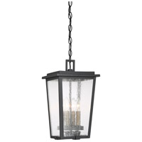 Minka-Lavery 72754-66G Cantebury 4 Light 9 inch Coal/Gold Outdoor Chain Hung Light, Great Outdoors