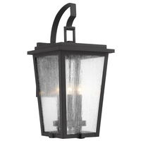 Minka-Lavery 72757-66G Cantebury 4 Light 32 inch Black/Gold Outdoor Wall Mount Great Outdoors