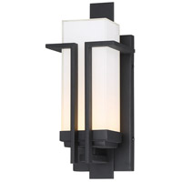 Minka-Lavery 72761-66-L Tish Mills LED 14 inch Coal Outdoor Wall Mount Great Outdoors