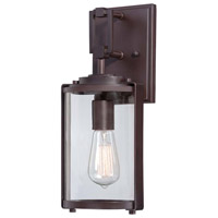 Minka-Lavery Ladera 1 Light Outdoor Lantern in Alder Bronze 73061-246