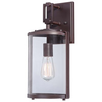 Minka-Lavery Ladera 1 Light Outdoor Lantern in Alder Bronze 73062-246