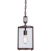 Minka-Lavery Ladera 1 Light Outdoor Lantern in Alder Bronze 73064-246