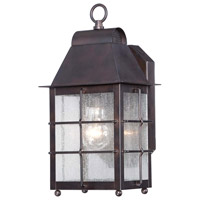 Minka-Lavery Willow Pointe 1 Light Outdoor Lantern in Chelesa Bronze 73091-189