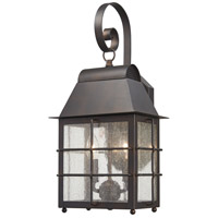 Minka-Lavery 73092-189 Willow Pointe 2 Light 7 inch Chelesa Bronze Outdoor Wall Lantern The Great Outdoors