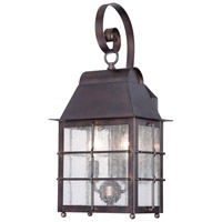 Minka-Lavery Willow Pointe 2 Light Outdoor Lantern in Chelesa Bronze 73092-189