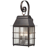 Minka-Lavery 73093-189 Willow Pointe 4 Light 22 inch Chelesa Bronze Outdoor Wall Mount, Great Outdoors