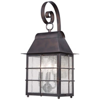 Minka-Lavery Willow Pointe 4 Light Outdoor Lantern in Chelesa Bronze 73093-189