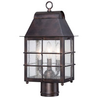 Minka-Lavery Willow Pointe 3 Light Outdoor Lantern in Chelesa Bronze 73096-189